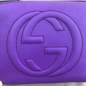 Gucci Disco Soho Purple Extra pictured